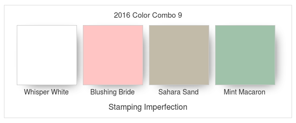 Stamping Imperfection 2016 Color Combo 9