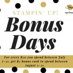 Only 5 Days Left To Earn Bonus Days Coupons!!