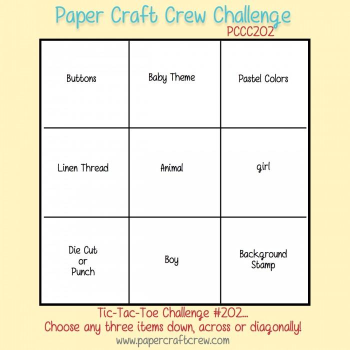 Paper Craft Crew Sketch 202