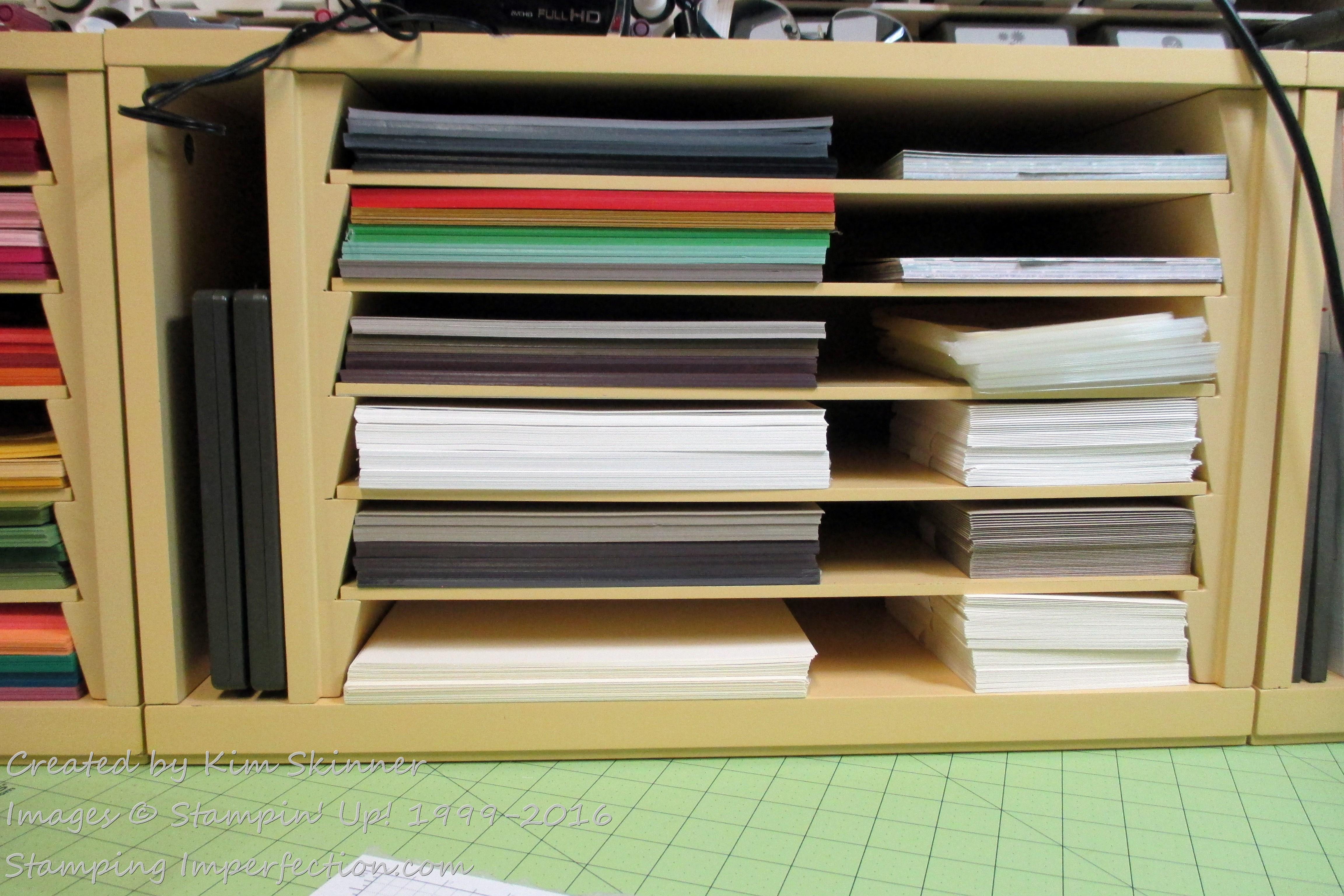 Craft Room Organization Challenge: Paper