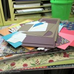 Craft Room Organization Challenge:  Papers!