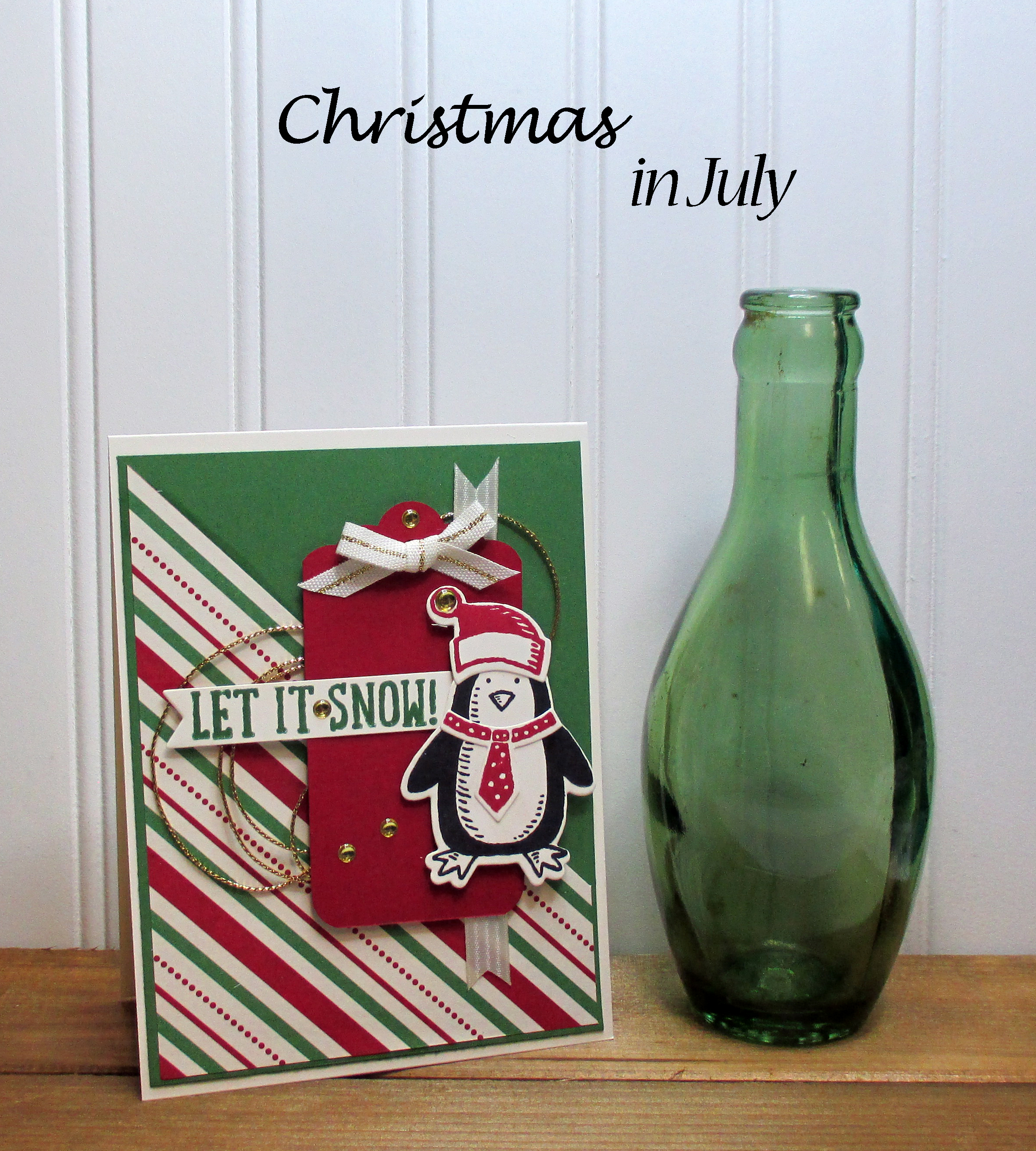 Stamping Imperfection Christmas In July
