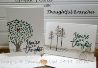 Stamping Imperfection Sympathy with Thoughtful Branches
