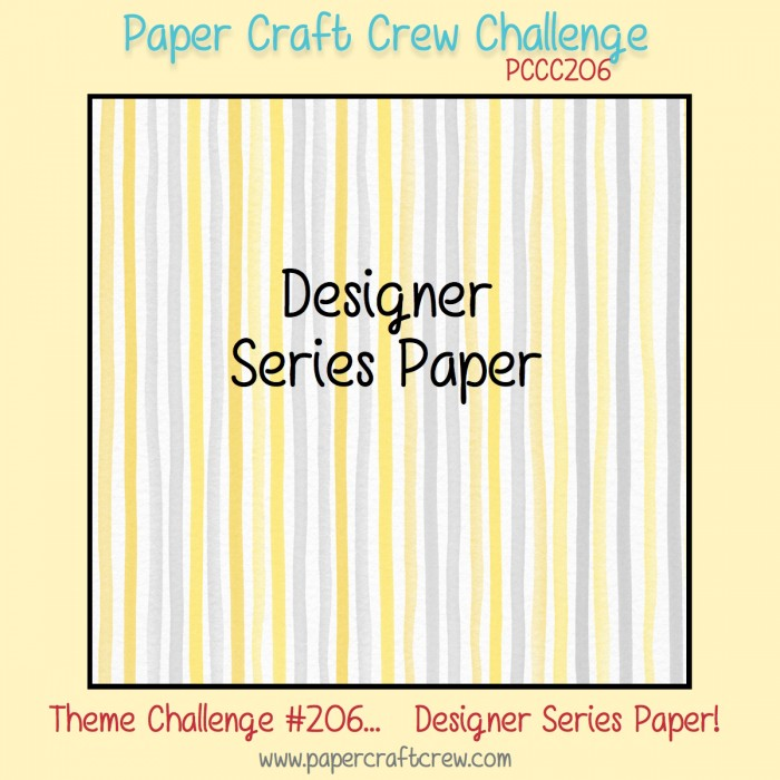 Paper Craft Crew Sketch Challenge
