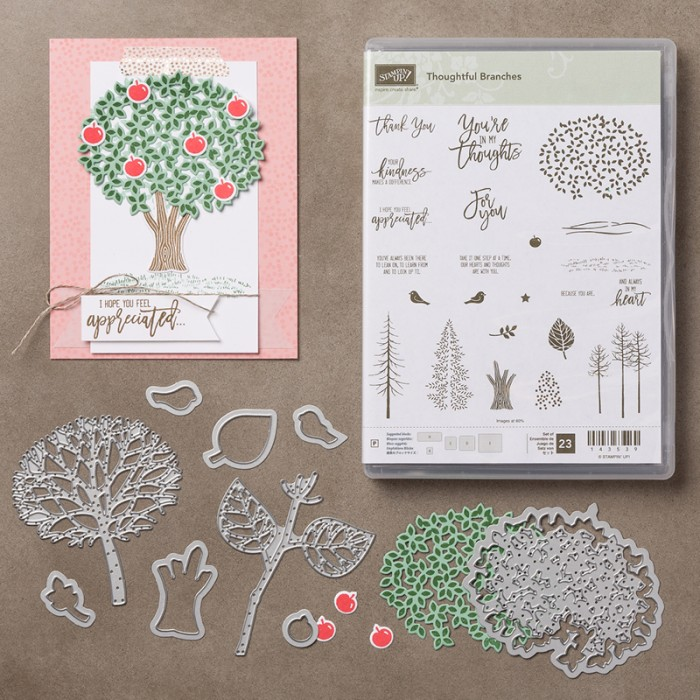 thoughtful branches bundle at mystampingstore.com
