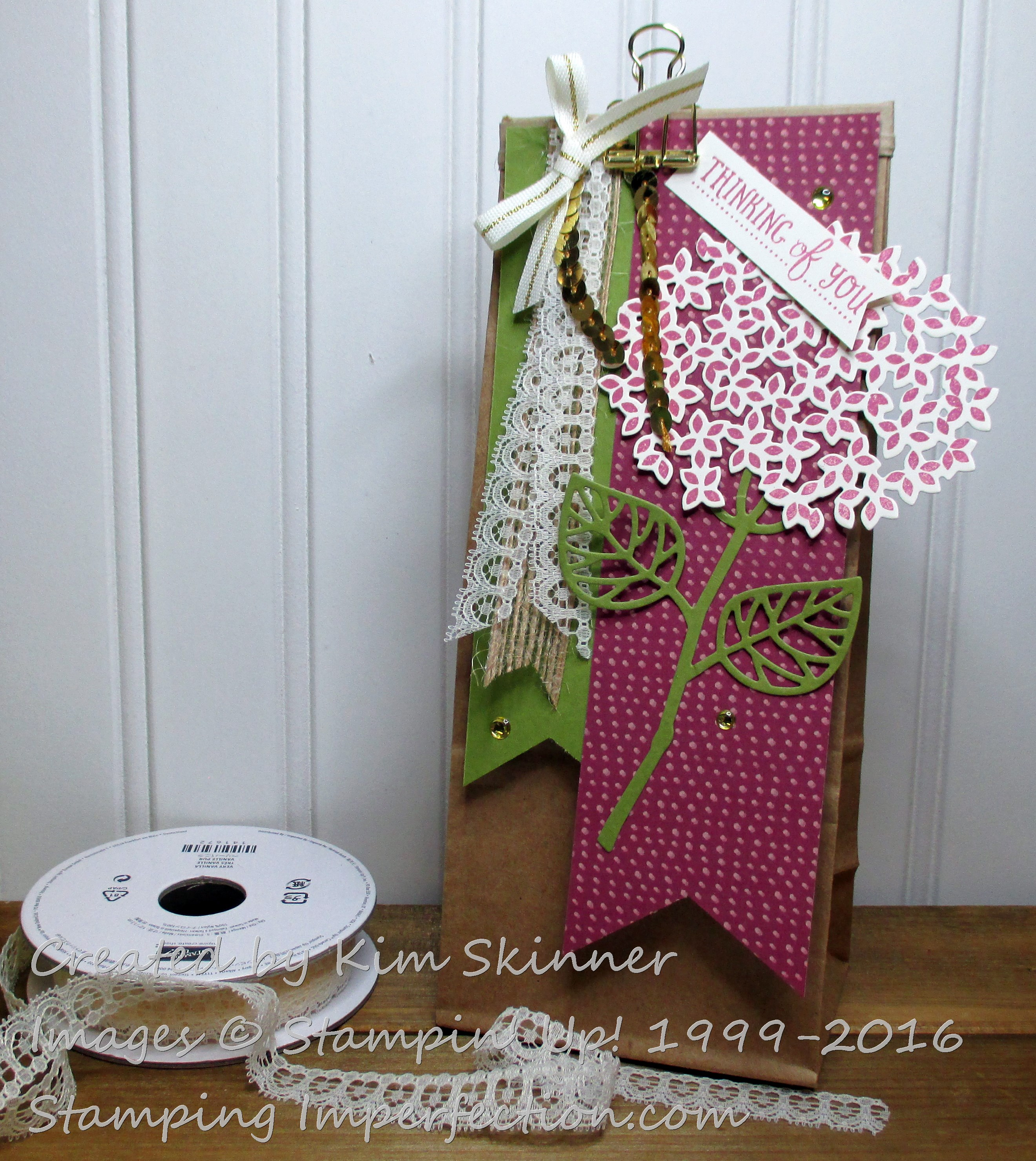 Thoughtful Branches gift bag from Stamping Imperfection