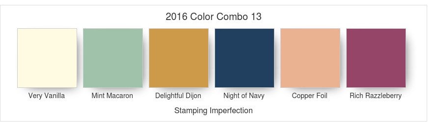 2016 Stamping Imperfection Color Combo 13