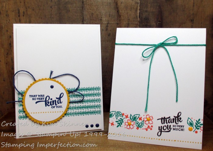 Stamping Imperfection Mixed Borders