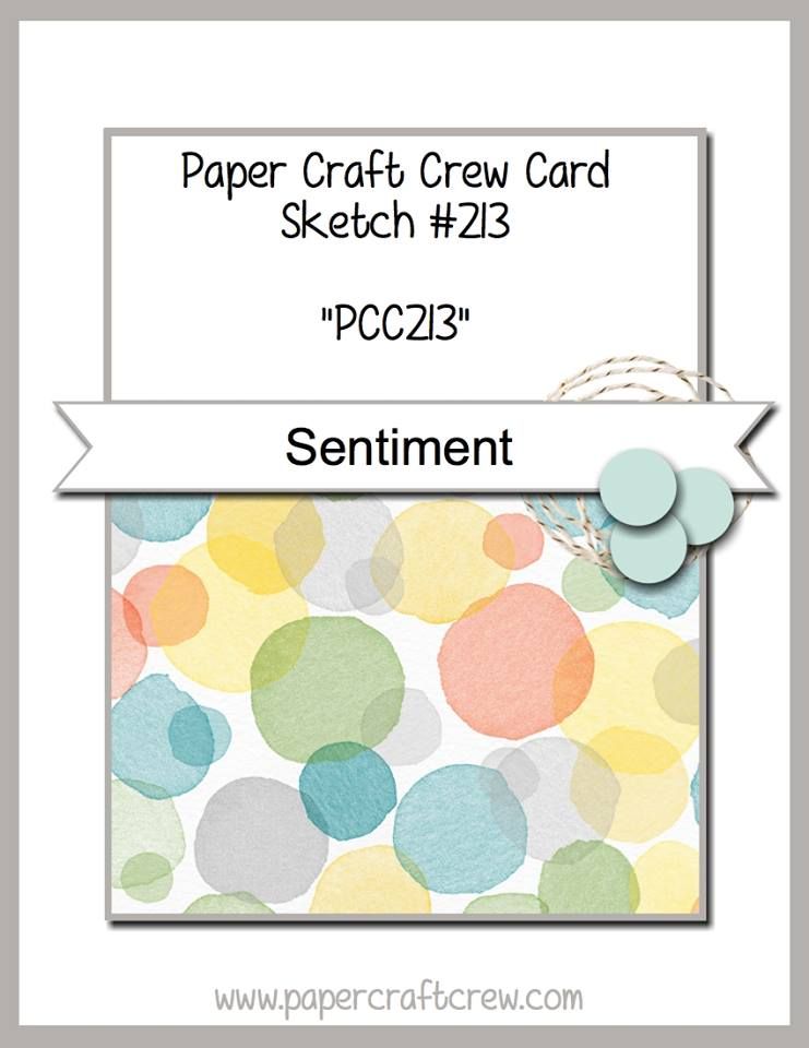 Stamping Imperfection Paper Craft Crew Sketch 213