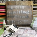 Create A Faux Aged Wood Sign For Inspiration