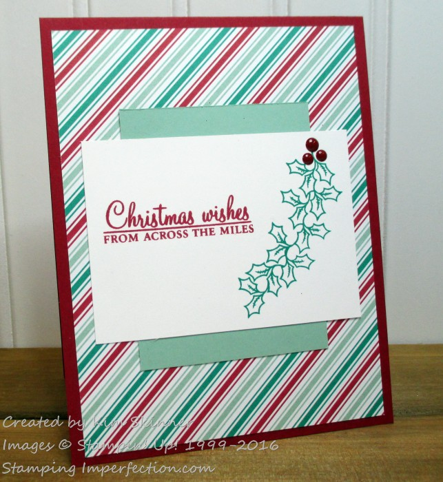 Stamping Imperfection Global Design Christmas