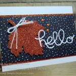 Paper Craft Crew Fall Card Challenge