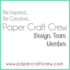paper craft crew design team badge