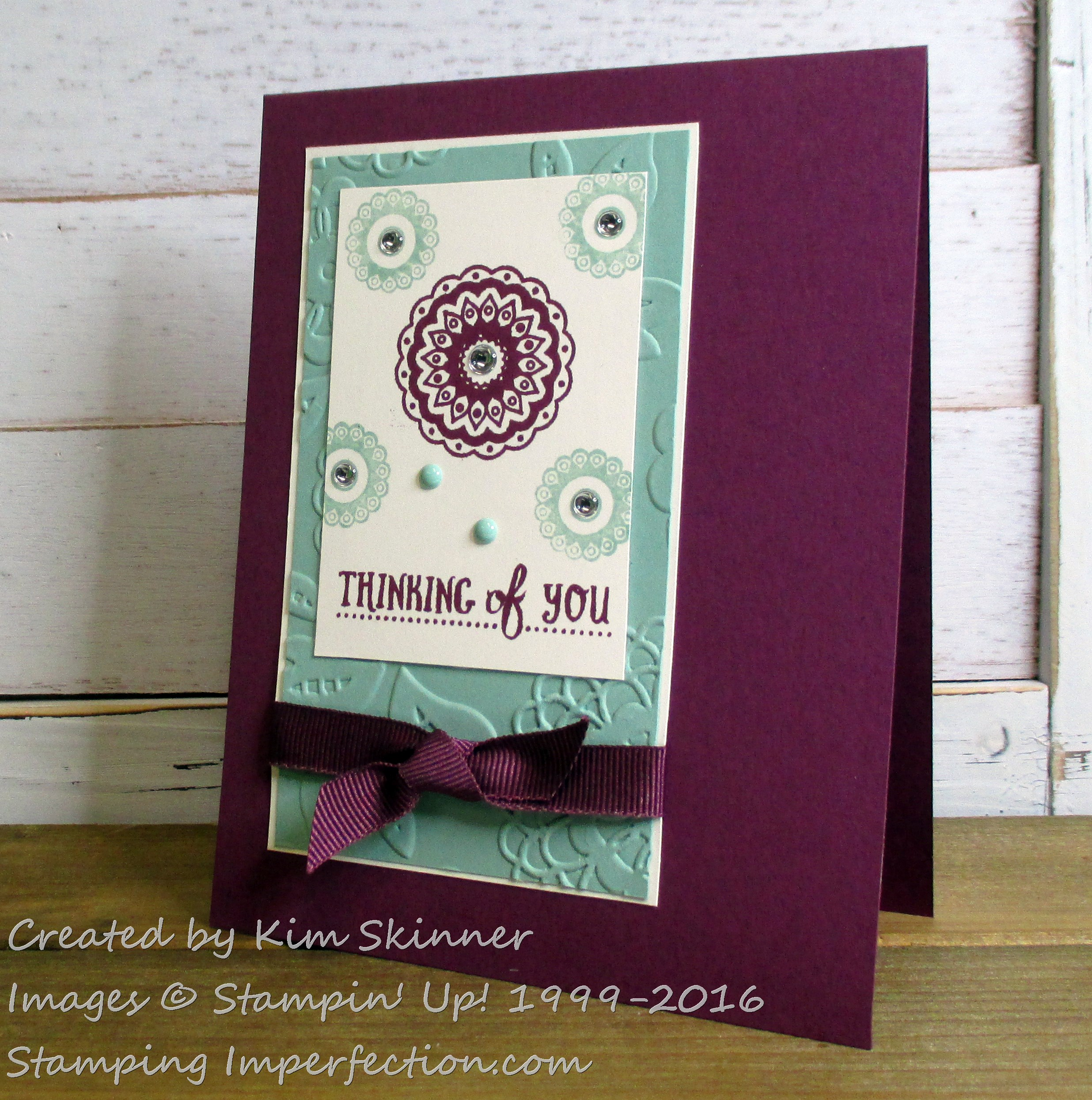Stampingimperfection Paisleys and Posies