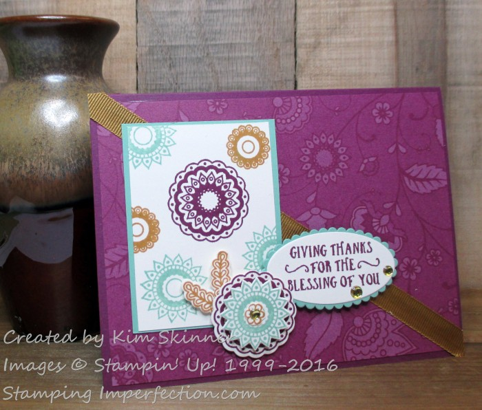 Stamping Imperfection Sketch Saturday 432