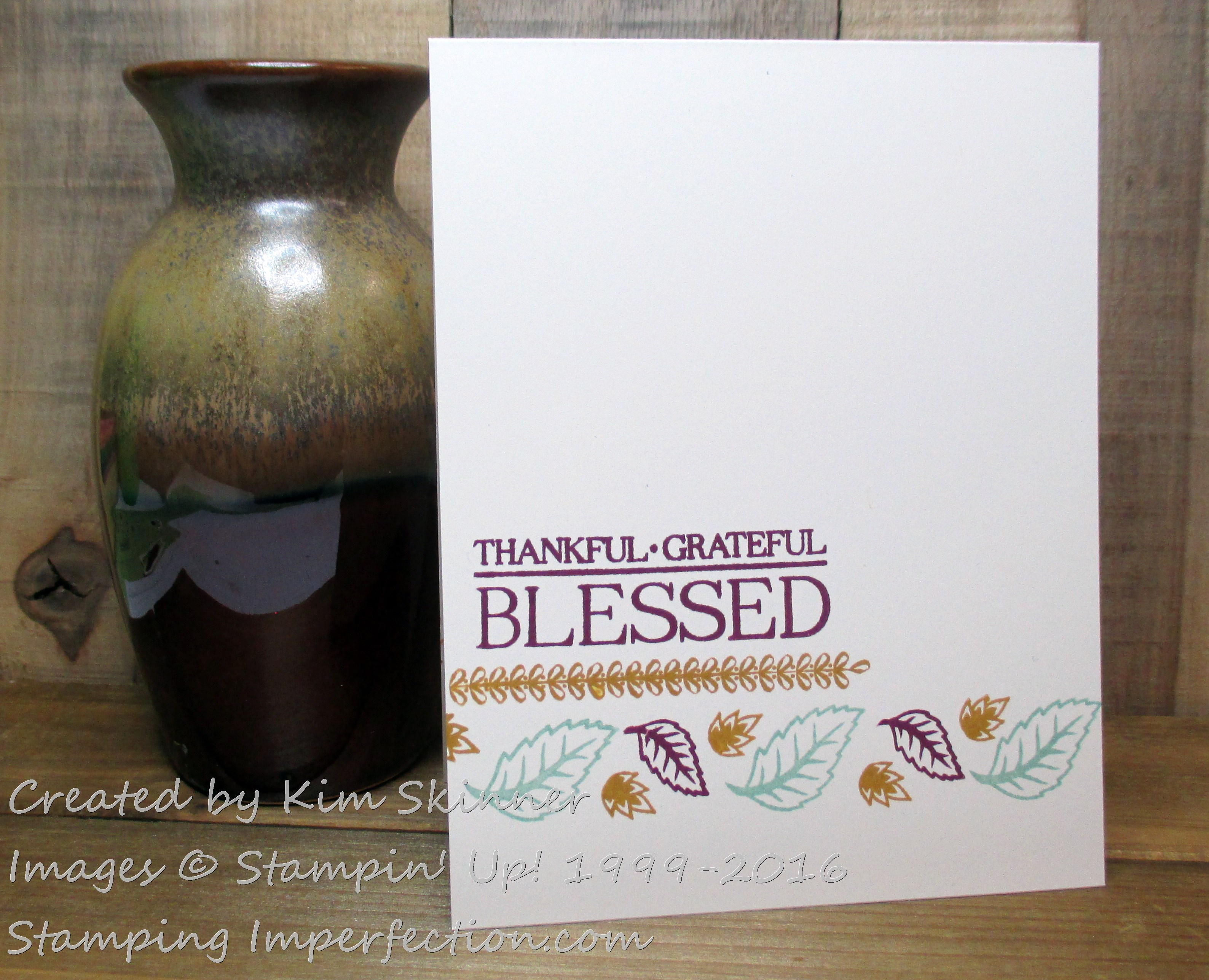 Stamping Imperfection more Paisley and Posies