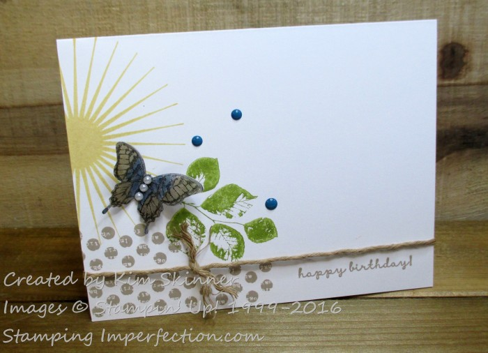 Stamping Imperfection Kinda Eclectic