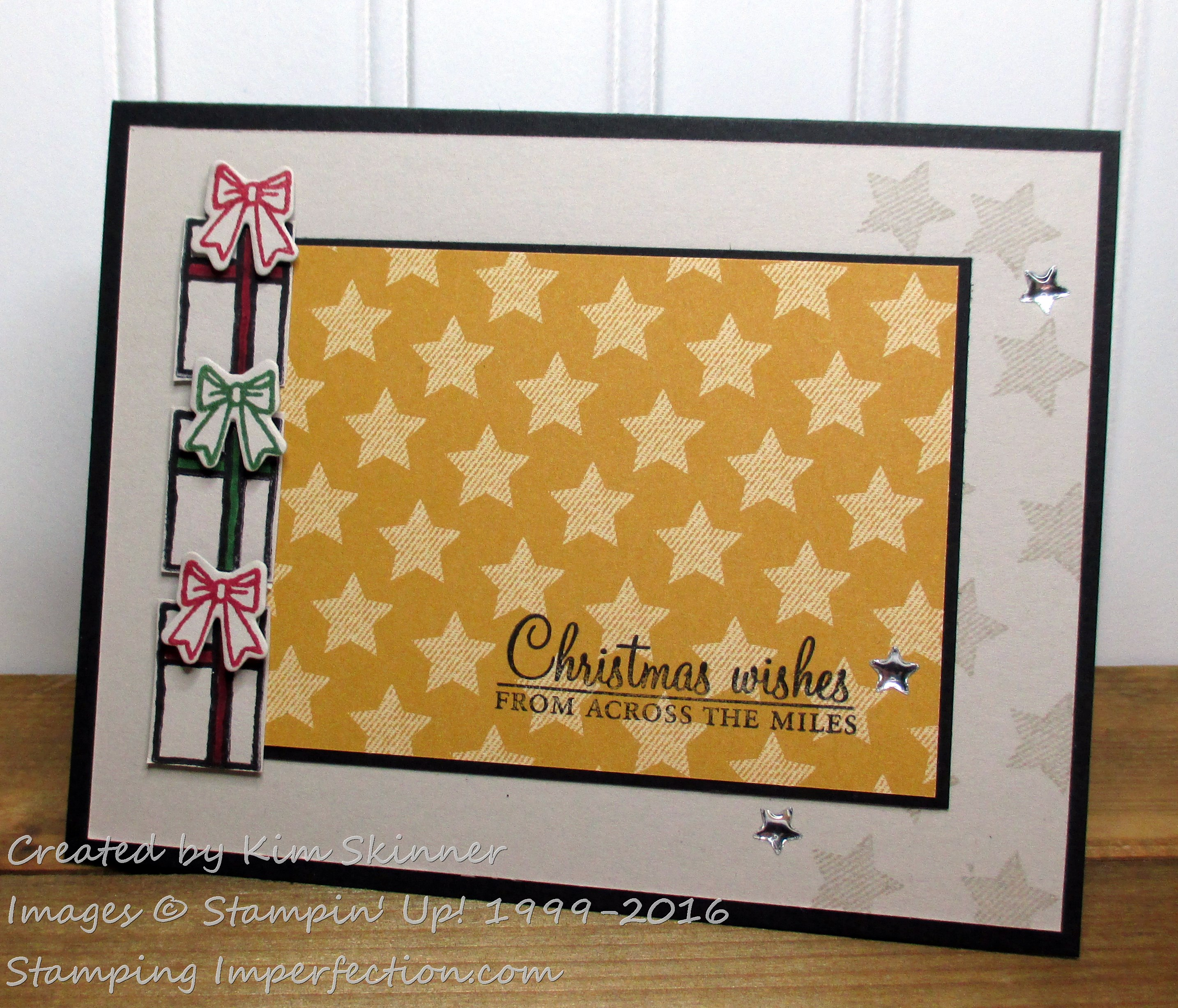 Stamping Imperfection paper craft Crew