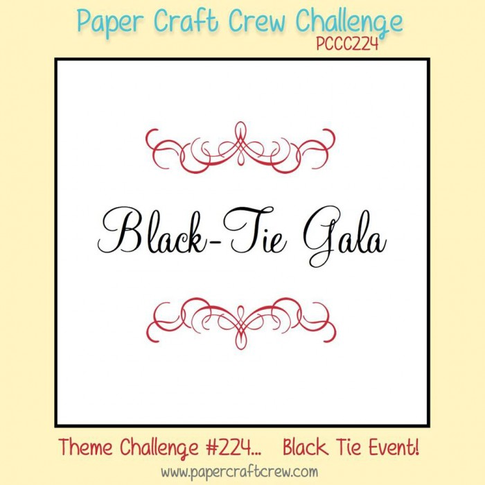 Stamping Imperfection Black Tie Gala