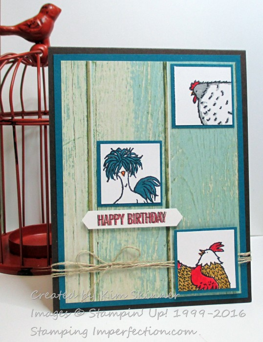 #bringingbirthdaysback with stamping imperfection