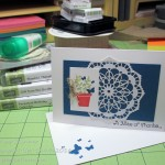 Finding Enough Craft Supplies To Get Stamping!