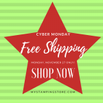 Free Shipping on Cyber Monday!