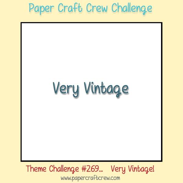 Stamping Imperfection Paper Craft Crew Challenge 269