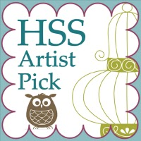 HSS artist pick badge