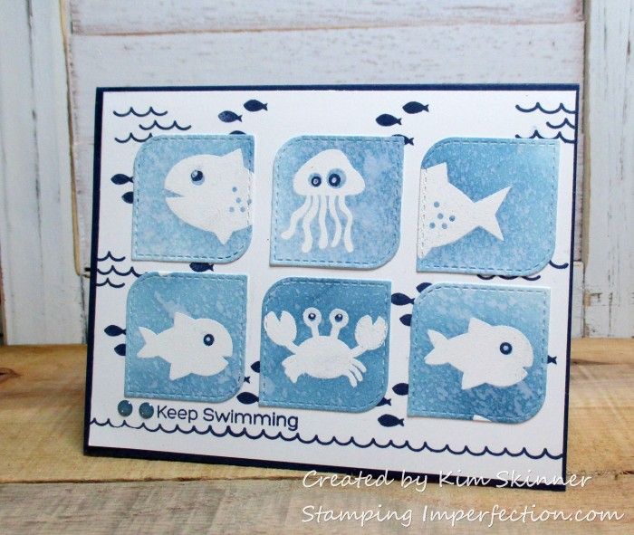 Stamping Imperfection MFT Ocean Pals