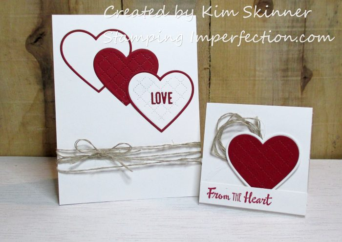 Stamping Imperfection Concord & 9th free heart die