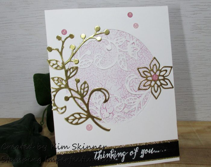 Stamping Imperfection Partial Die Cutting