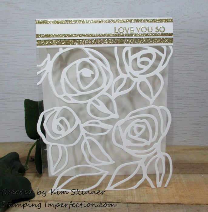Stamping Imperfection Die Cutting With Transparencies