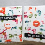Advanced Die Cutting:  Stamp And Die Cut Background