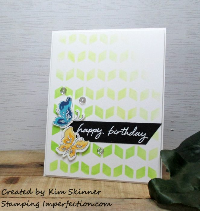 Stamping Imperfection Die Cutting and Ink Blending