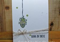 Stamping Imperfection Stampin' Up! hanging garden