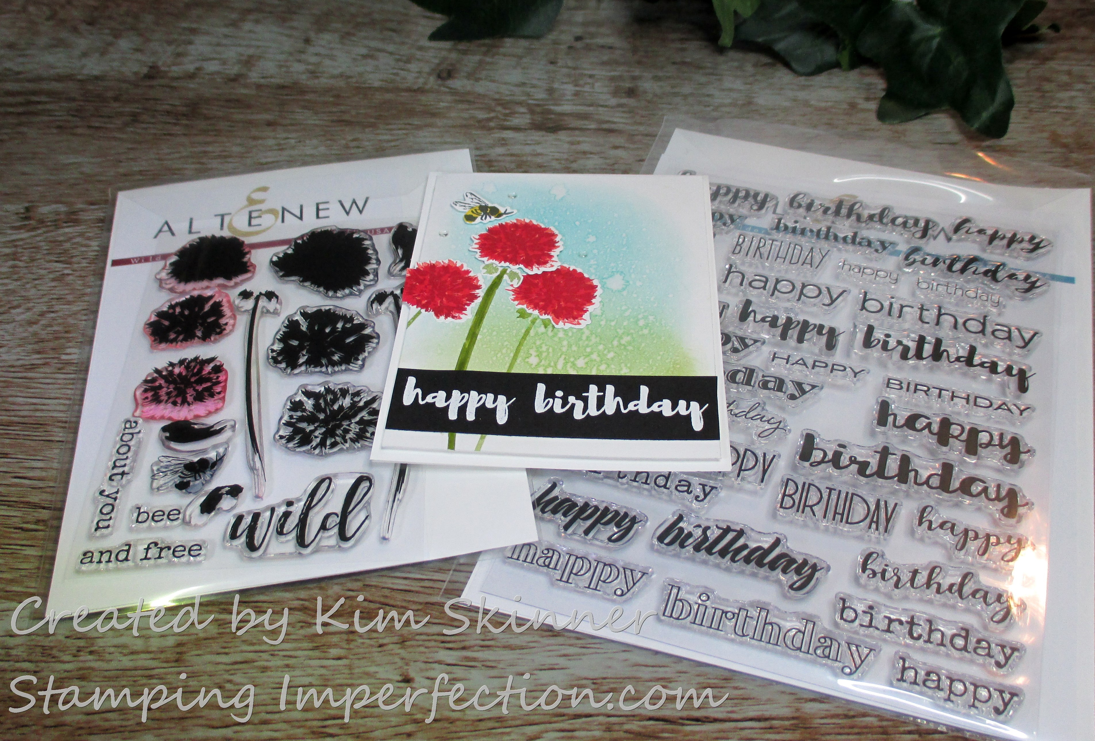 Stamping Imperfection Ink Blending