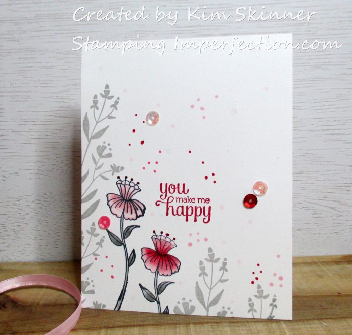 Stamping Imperfection Paper Craft Crew Color Challenge