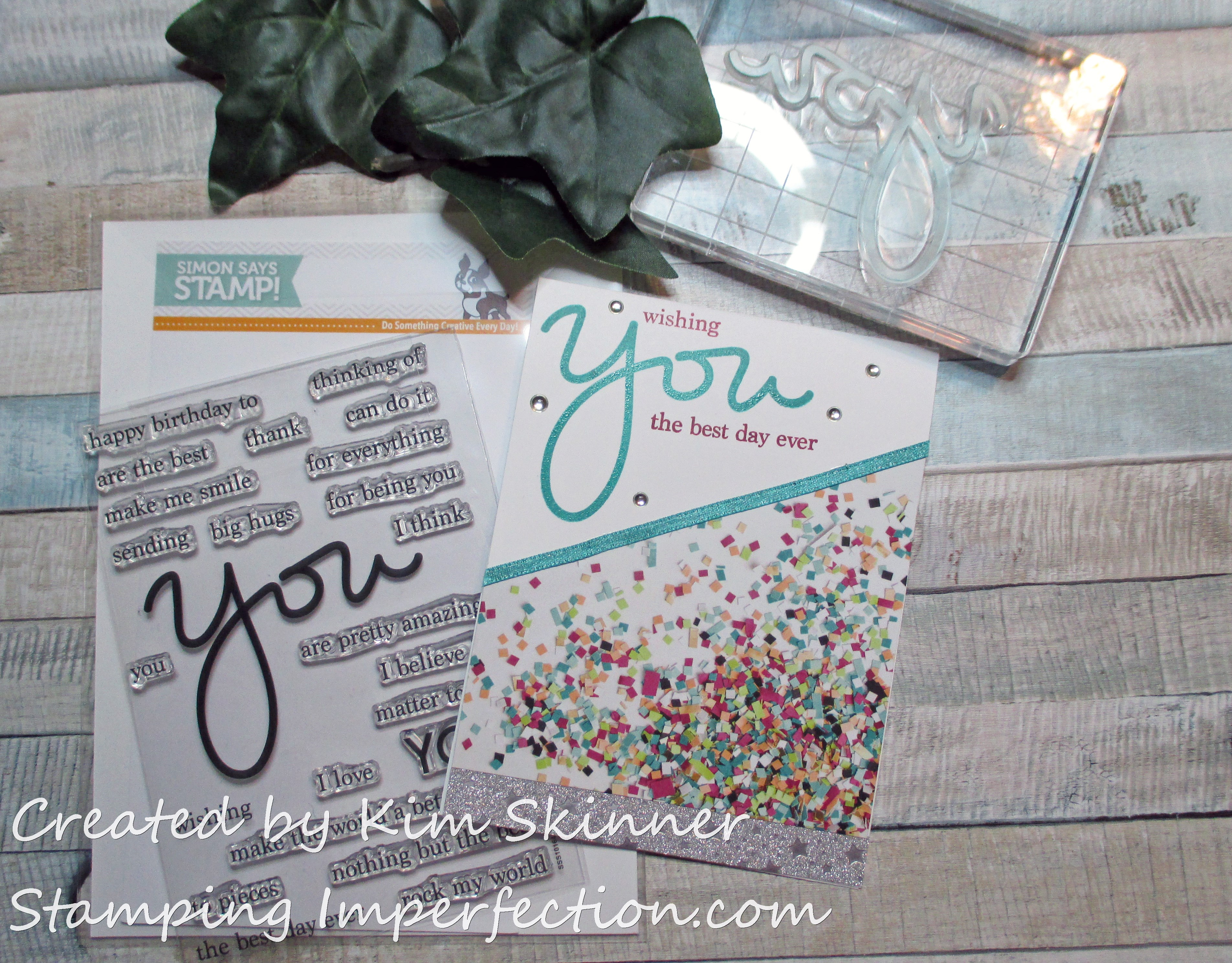 Stamping Imperfection Picture Perfect