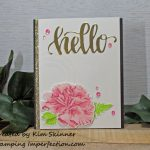 Embossing With Layered Thinlit Dies