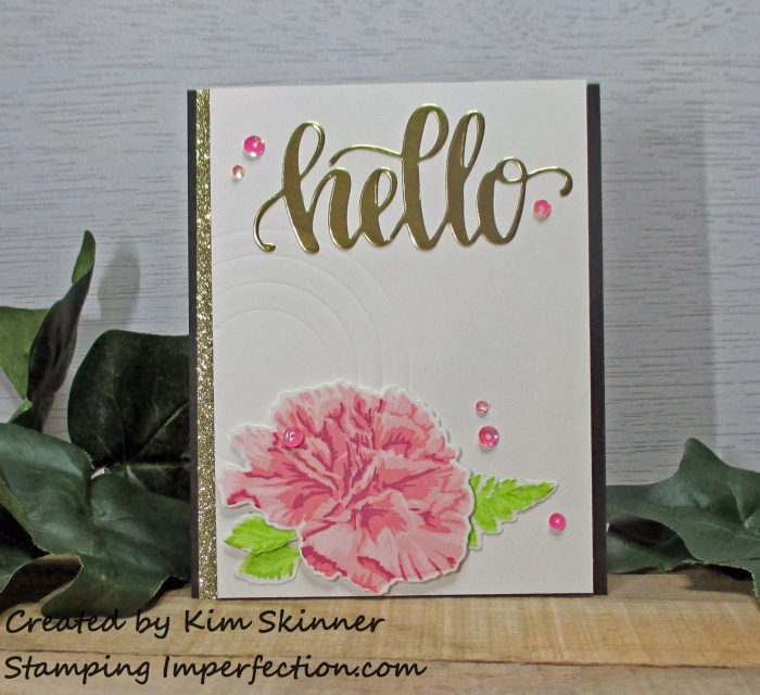 Stamping Imperfection Embossing with Layered Thinlit Dies