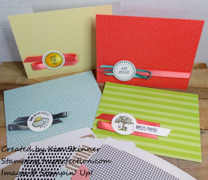 Stamping Imperfection A Good Day in Tutti Frutti