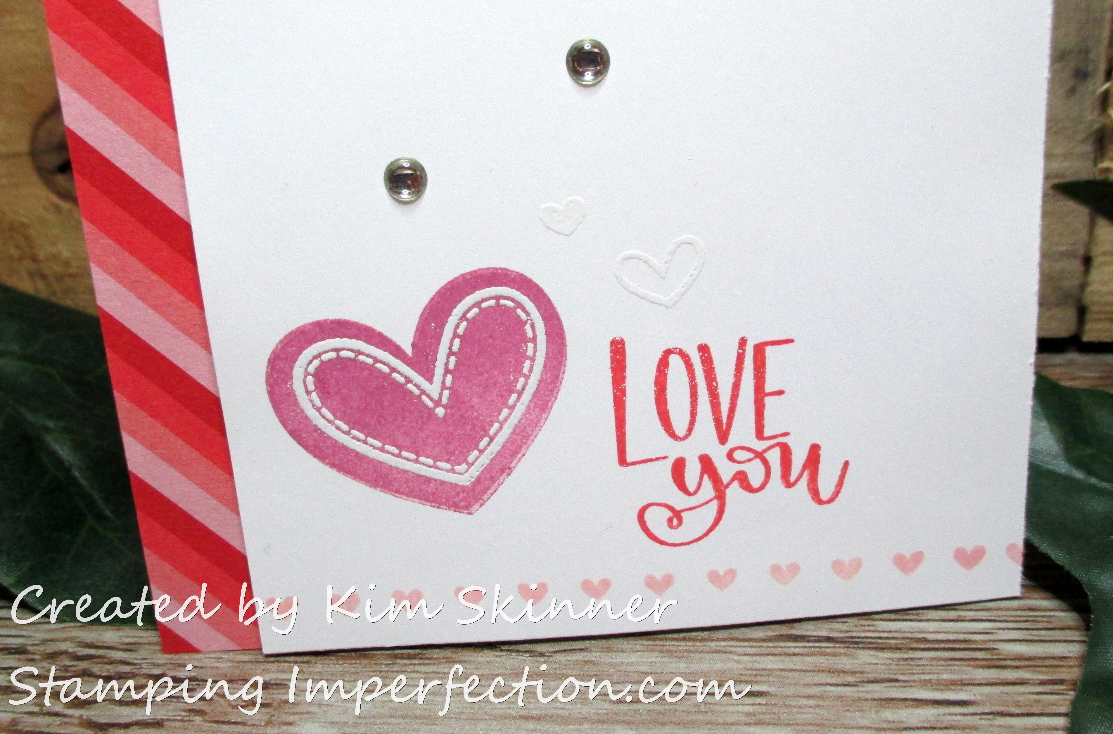 Stamping Imperfection Simon Says Stamps Really Love You