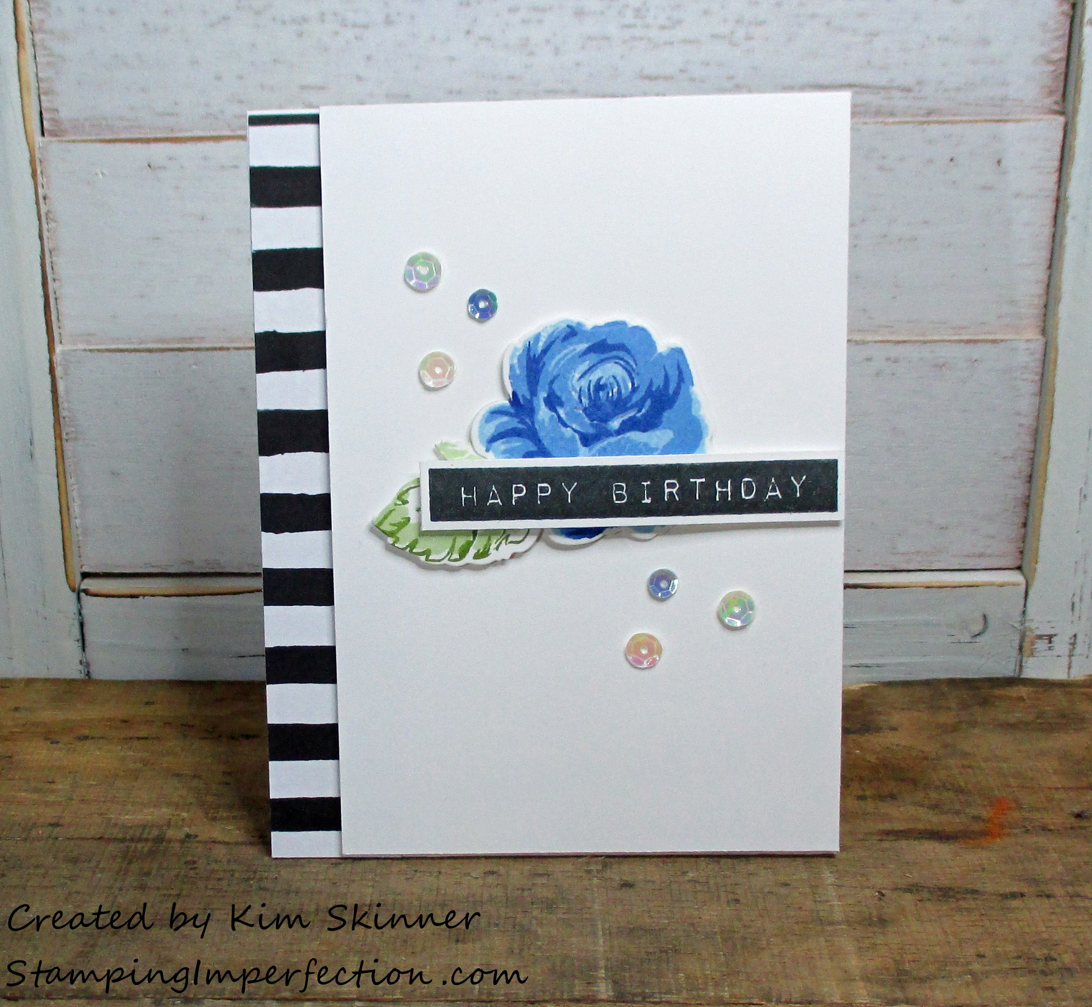 Stamping Imperfection Vintage Roses AECP