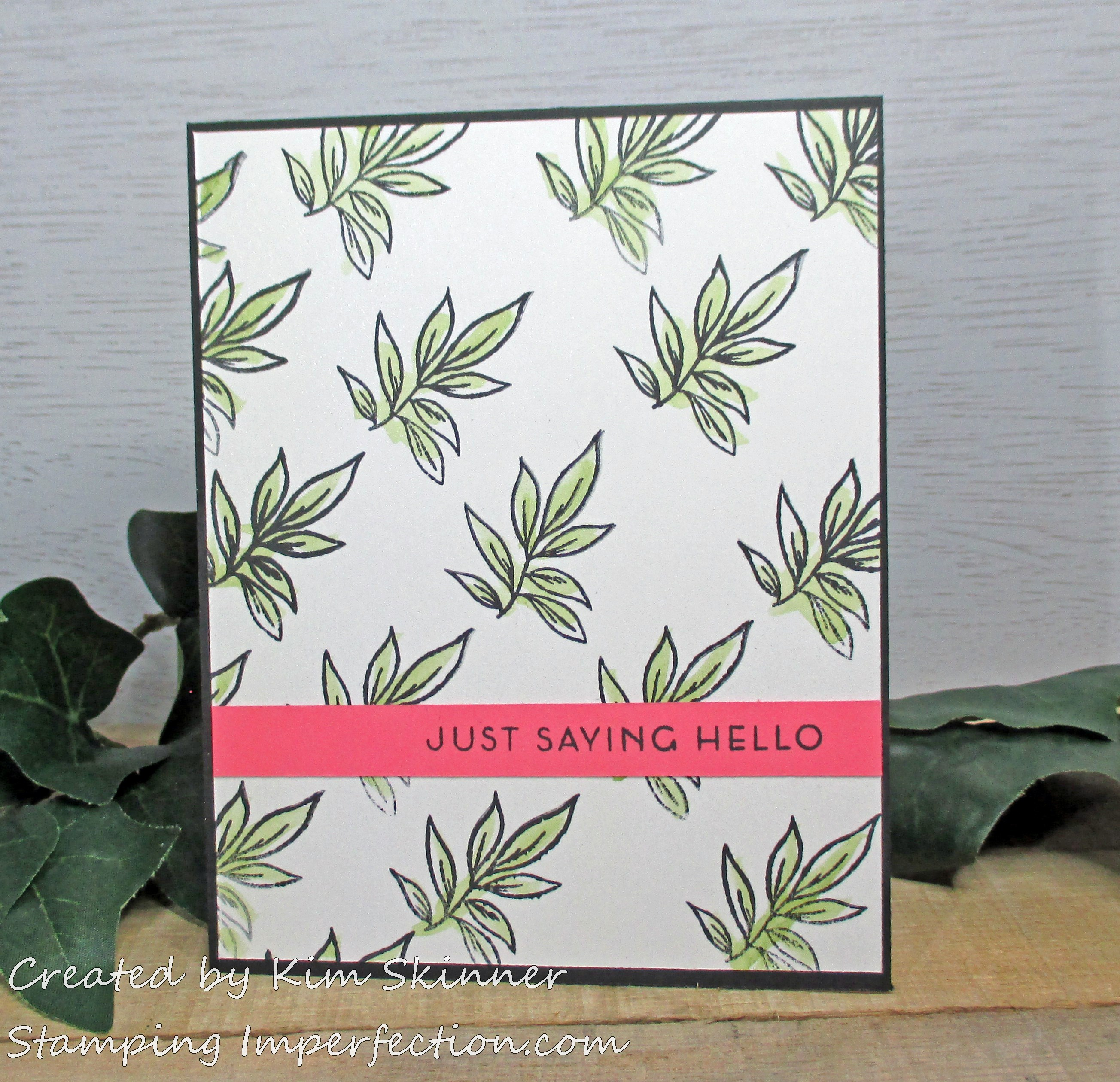 Stamping Imperfection CAS Boutique Cards