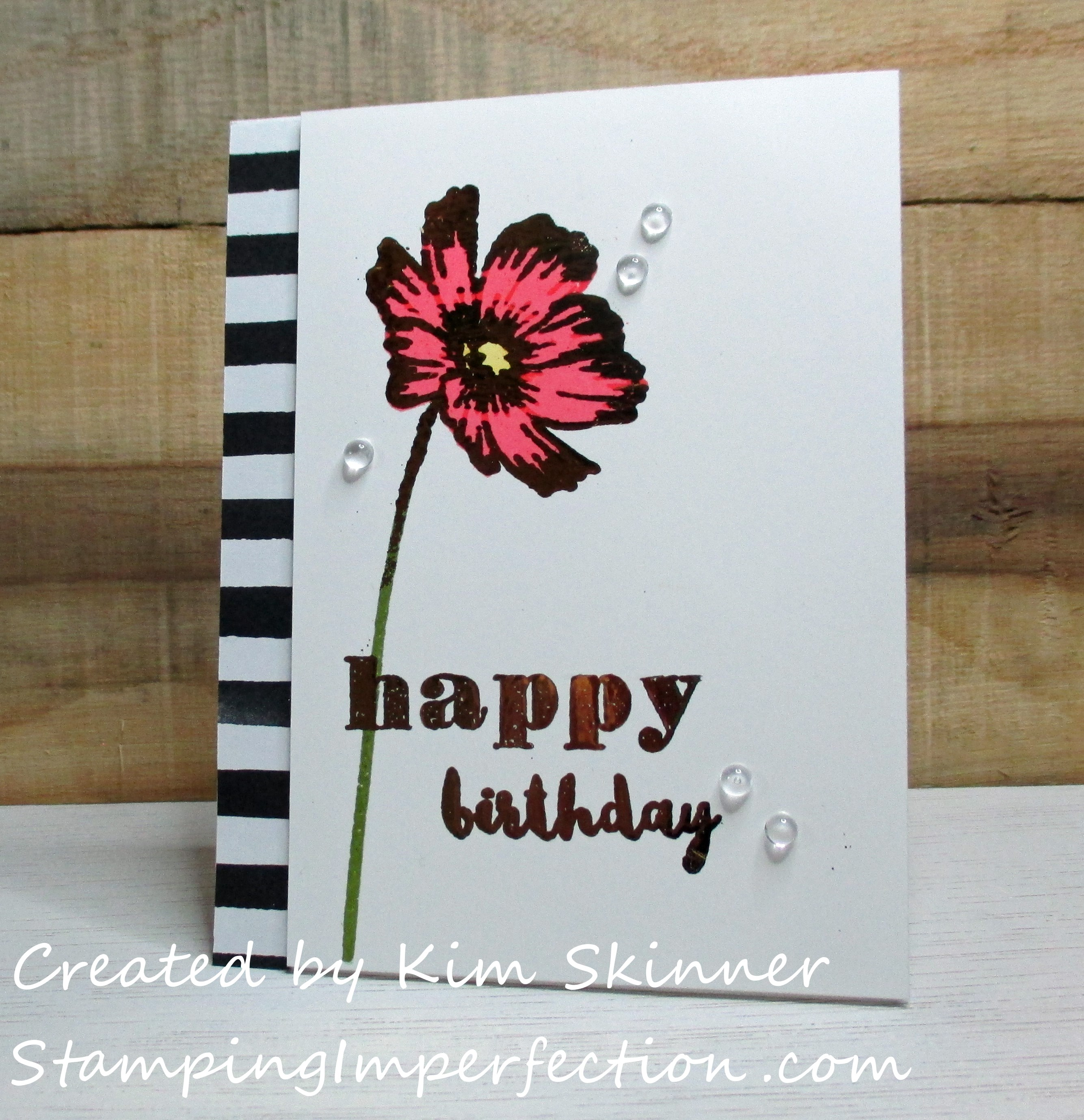 Stamping Imperfection Beyond Basic Backgrounds