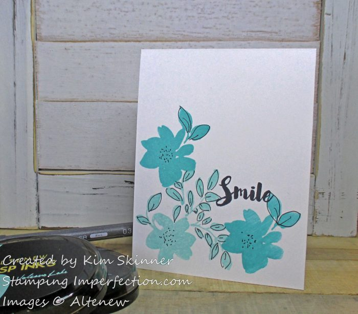 Stamping Imperfection Simple Boutique Cards