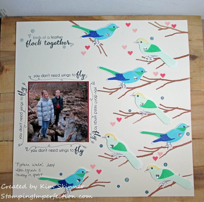 Stamping Imperfection Stamps Meet Scrapbooks 2