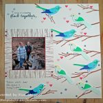 Altenew Academy Stamps Meet Scrapbooks:  Stamping A Background