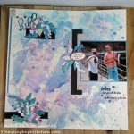 Altenew Academy Stamps Meet Scrapbooks:  Backgrounds