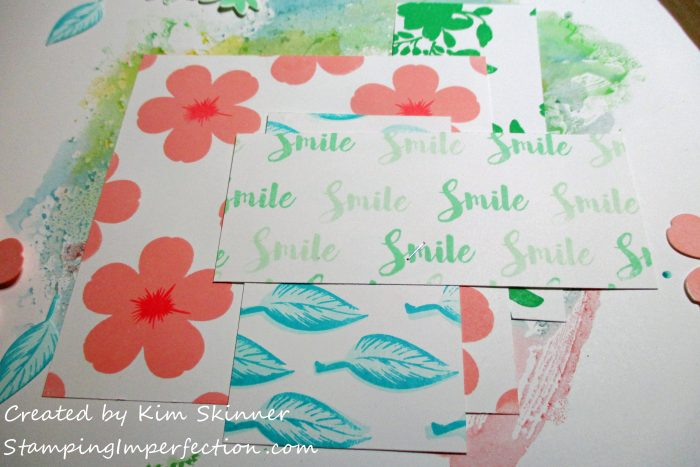 Stamping Imperfection Stamps Meet Scrapbooks